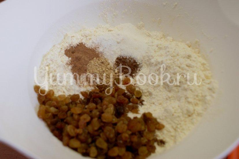 Крестовые булочки к Пасхе (hot cross buns) - шаг 2