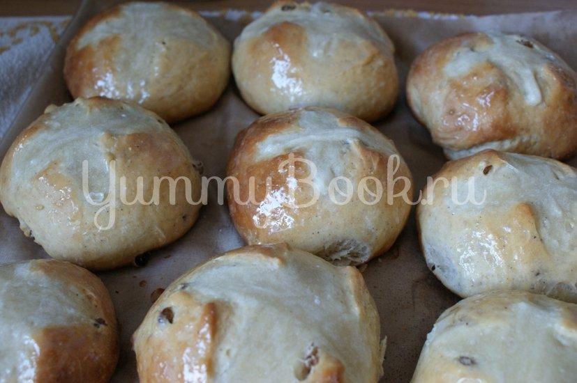 Крестовые булочки к Пасхе (hot cross buns) - шаг 12