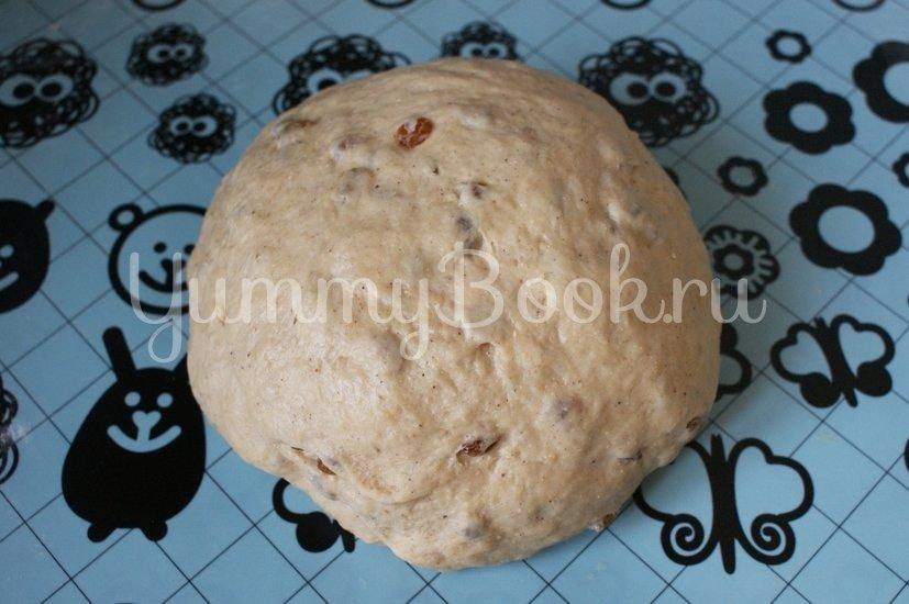 Крестовые булочки к Пасхе (hot cross buns) - шаг 5