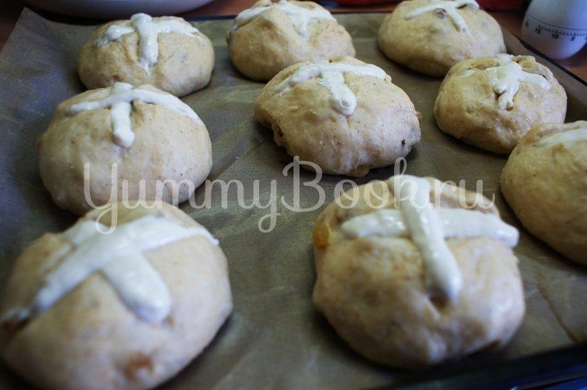 Крестовые булочки к Пасхе (hot cross buns) - шаг 11