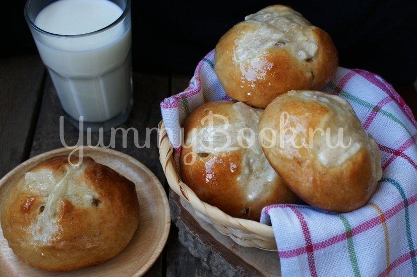 Крестовые булочки к Пасхе (hot cross buns) - шаг 14