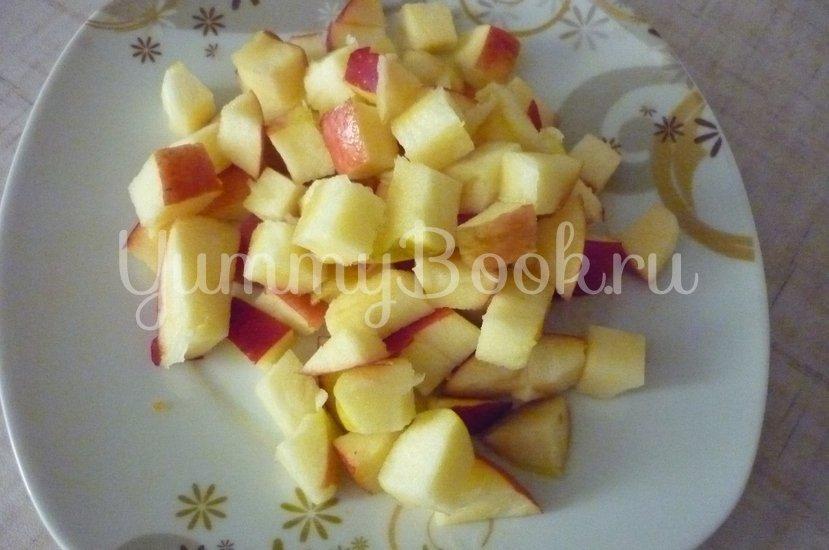 Тыква, фаршированная говядиной с яблоком и морковью - шаг 8