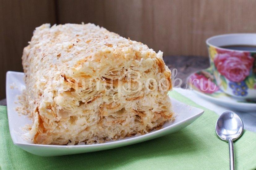 """Торт  """"Слоёное полено"""" - шаг 8"""