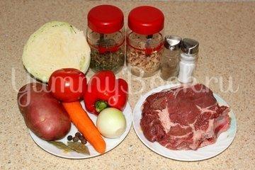 Щи с разварной говядиной, пошаговый рецепт с фото