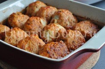 Куриные тефтели в томатном соусе - шаг 8