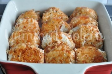 Куриные тефтели в томатном соусе - шаг 7