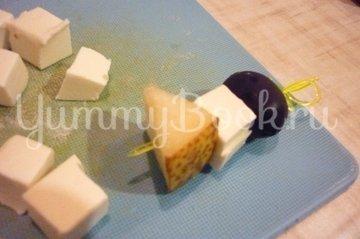 Канапе для тапас, пошаговый рецепт с фото