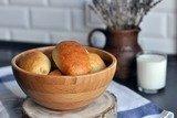 Пирожки дрожжевые с картофелем и печенью