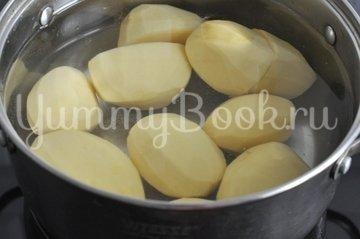 Пирожки дрожжевые с картофелем и печенью - шаг 1