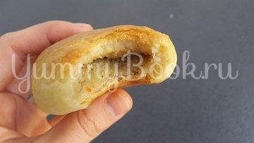 Пирожки дрожжевые с картофелем и печенью - шаг 11