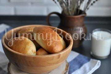 Пирожки дрожжевые с картофелем и печенью - шаг 10