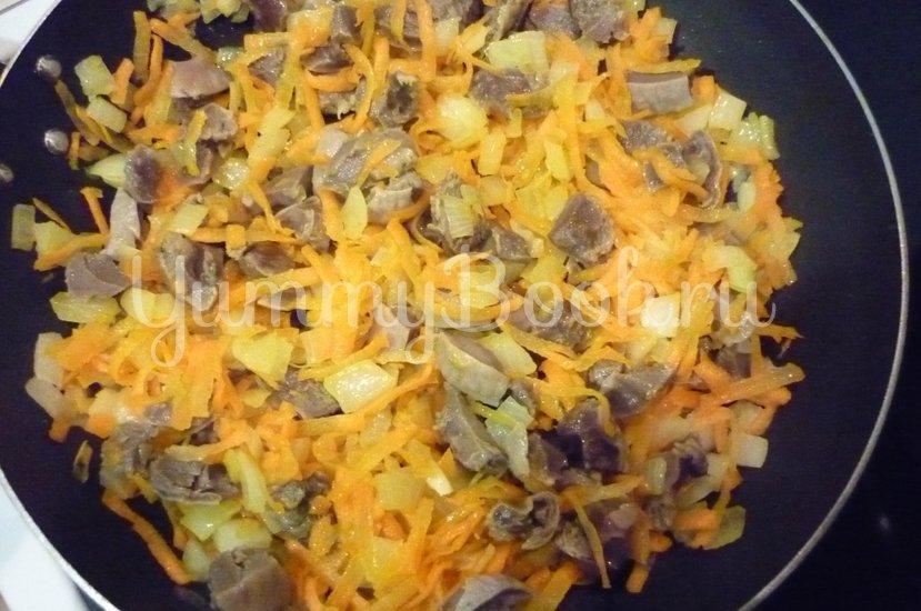 Нежные куриные желудочки в сметанном соусе - шаг 10