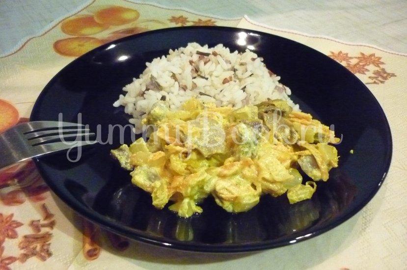 Нежные куриные желудочки в сметанном соусе - шаг 20