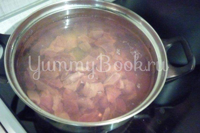 Нежные куриные желудочки в сметанном соусе - шаг 3
