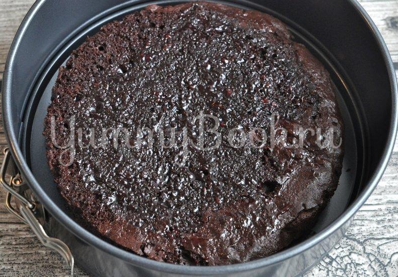 Муссовый торт с клубникой и грейпфрутом - шаг 13