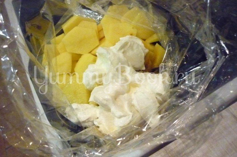 Картофель, запечённый в сметане - шаг 5