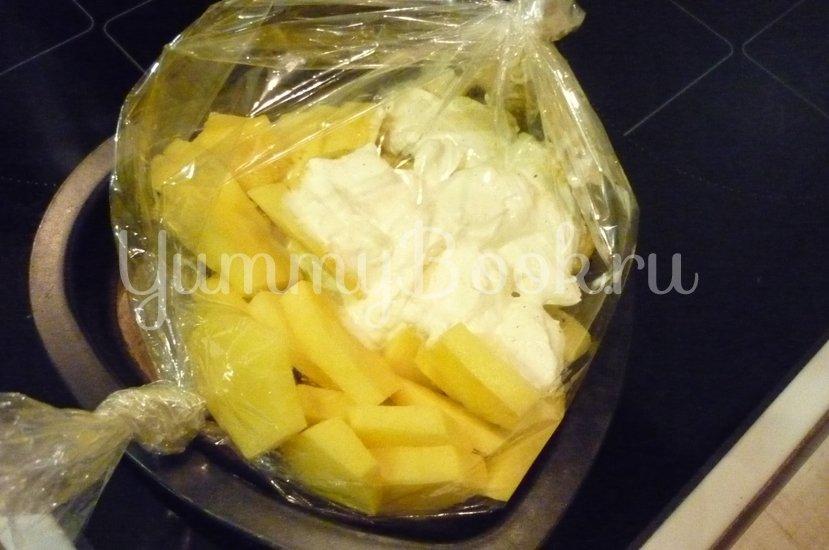 Картофель, запечённый в сметане - шаг 6