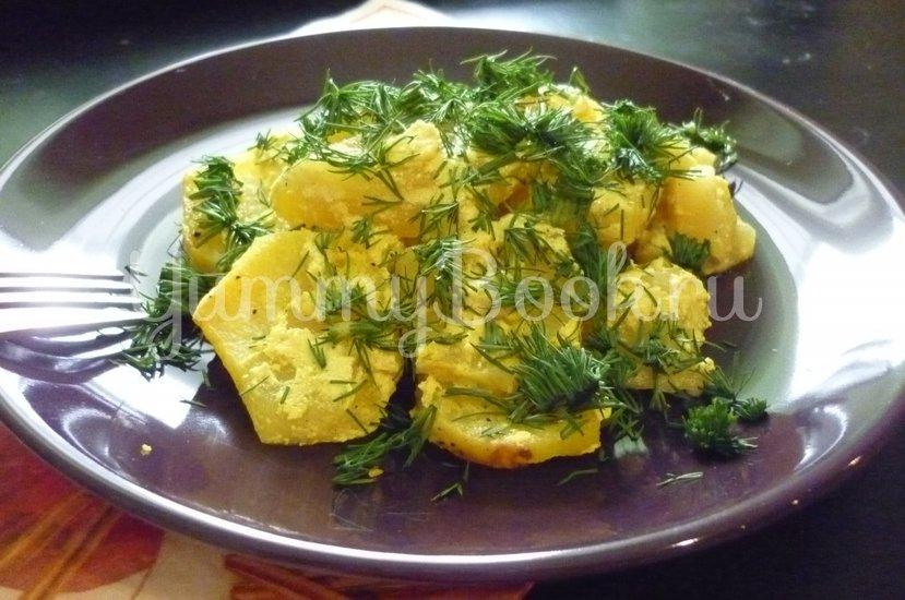 Картофель, запечённый в сметане - шаг 11