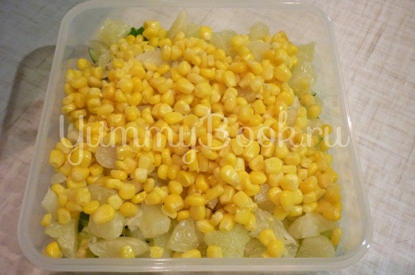 Лёгкий весенний салат с помело - шаг 6