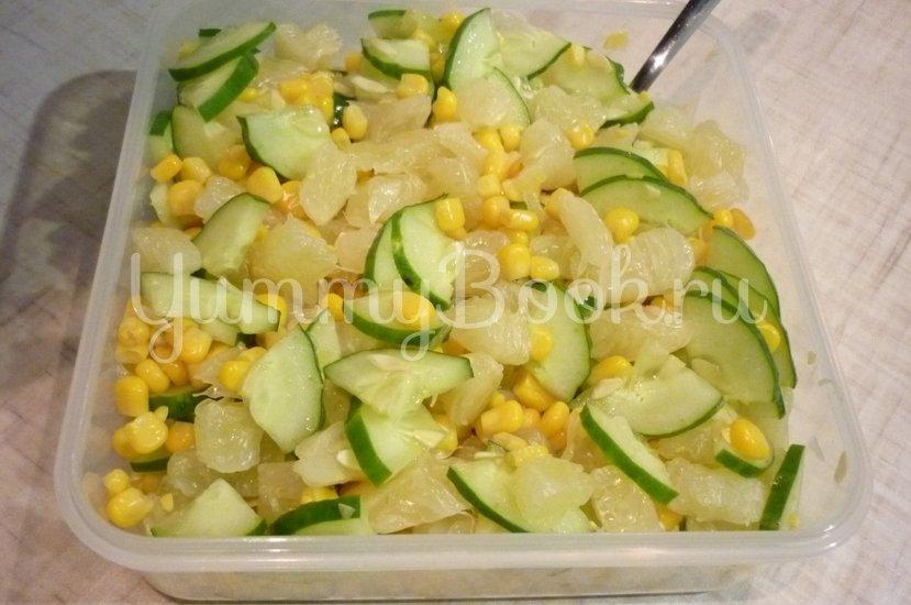 Лёгкий весенний салат с помело - шаг 7