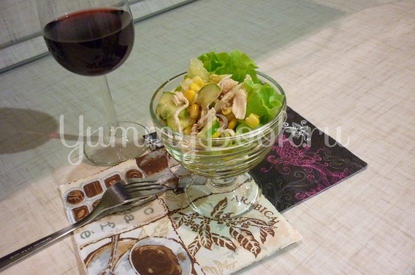 Лёгкий весенний салат с помело - шаг 12