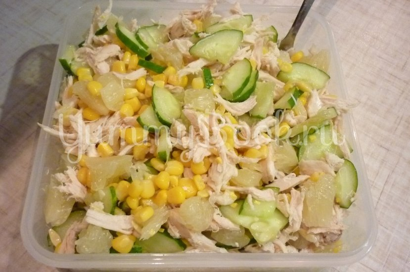 Лёгкий весенний салат с помело - шаг 10