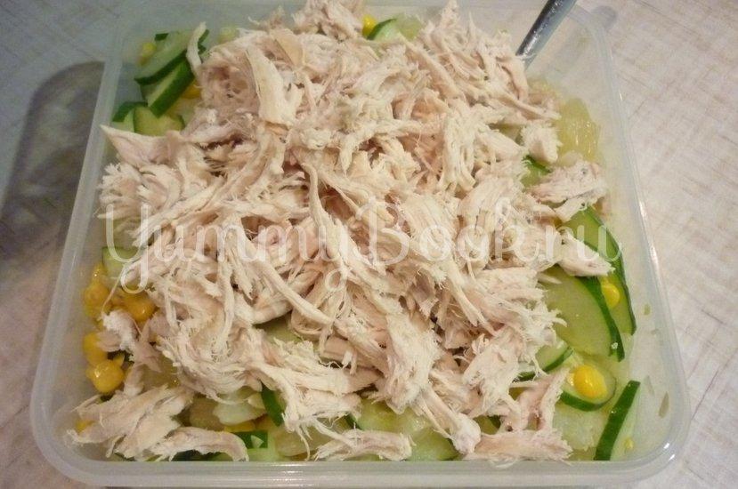 Лёгкий весенний салат с помело - шаг 9