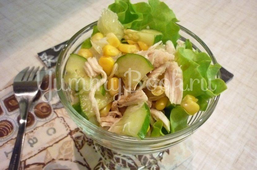 Лёгкий весенний салат с помело - шаг 13