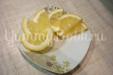 """Скумбрия с """"остринкой"""", запечённая с томатом, луком и лимоном - шаг 7"""
