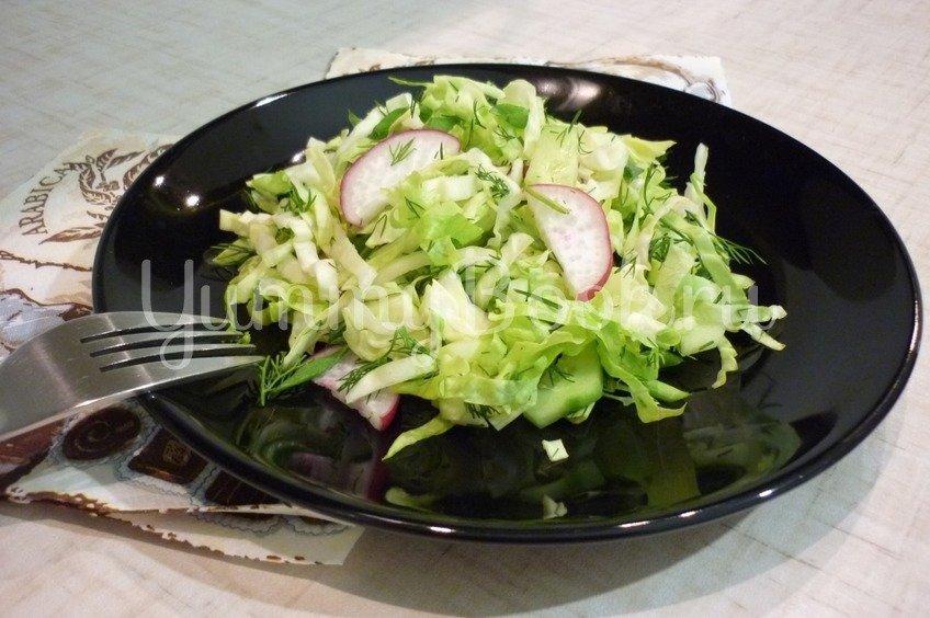"""Простой """"зелёный"""" салат"""