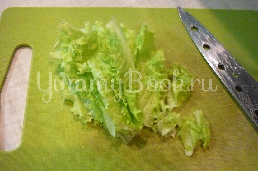 """Простой """"зелёный"""" салат - шаг 8"""