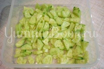 """Простой """"зелёный"""" салат - шаг 2"""