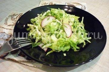 """Простой """"зелёный"""" салат - шаг 12"""