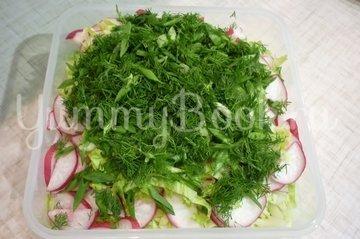 """Простой """"зелёный"""" салат - шаг 11"""