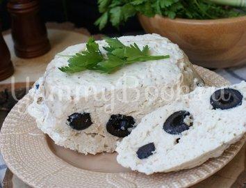 Куриное суфле с оливками на пару в мультиварке - шаг 5
