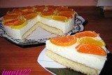 Торт лимонный с йогуртом