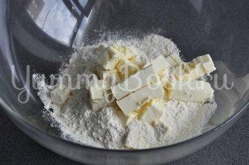 Клубничный тарт со сметаной - шаг 1