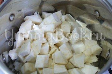 Суп-пюре из корня сельдерея и картофеля - шаг 2