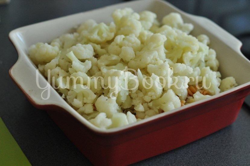 Макароны с сыром и цветной капустой - шаг 4