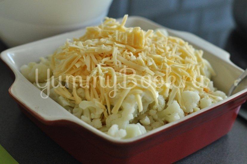 Макароны с сыром и цветной капустой - шаг 5