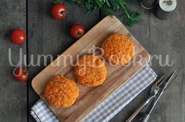 Морковные паровые котлеты в мультиварке - шаг 5
