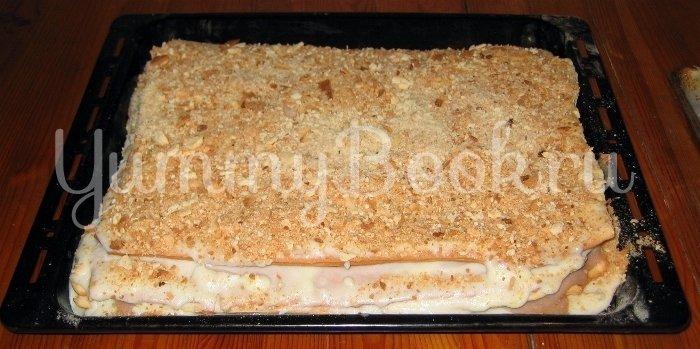 Торт Наполеон со сметаной - шаг 17
