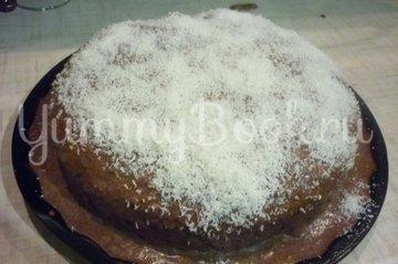 Шоколадно-банановый бисквитный торт - шаг 25