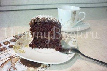 Шоколадно-банановый бисквитный торт - шаг 26
