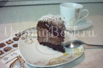 Шоколадно-банановый бисквитный торт - шаг 27