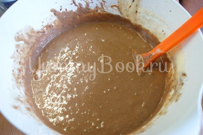 Шоколадный семифредо с бисквитом - шаг 6