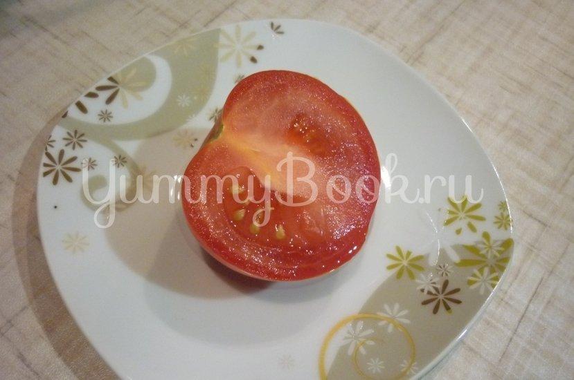 Конверты из индейки, фаршированные маслинами, томатами и перцами, под сыром - шаг 10