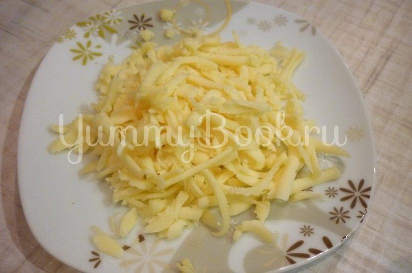Конверты из индейки, фаршированные маслинами, томатами и перцами, под сыром - шаг 21