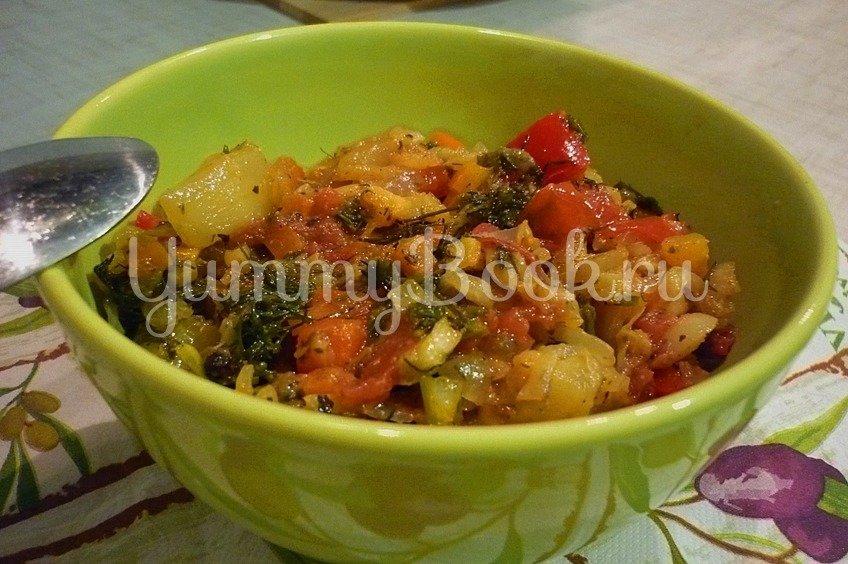 Летнее рагу из овощей