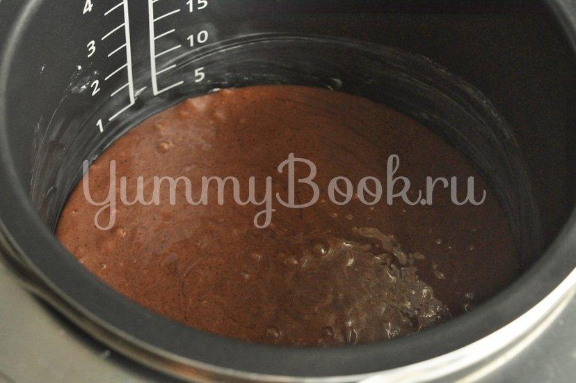 Шоколадный пирог на сметане в мультиварке - шаг 3